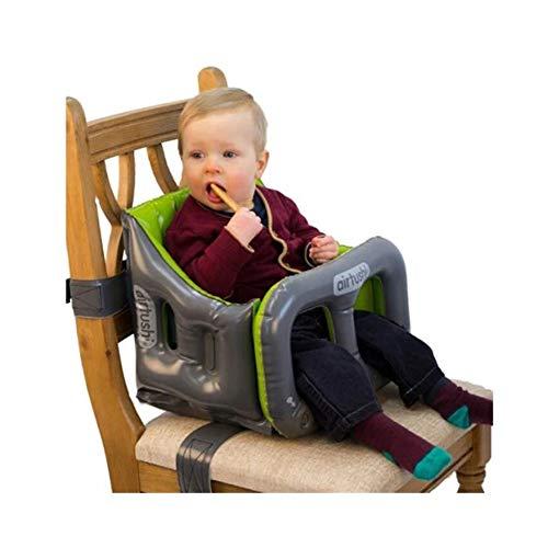 Sedile per bambini il seggiolone completamente pieghevole con i fianchi increspati: nessun rischio di rovesciarsi lateralmente! proteggi la sicurezza dei bambini (color : yellow green)