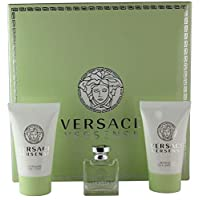 Versace Versence 3 Pc Mini Gift set for Women With Perfume, Shower Gel and Body Lotion