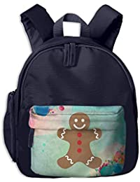 Gingerbread Man Merry Christmas Students Book Bag Children Schoolbags Backpacks For Teens Boys Girls