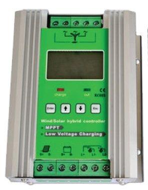 Gowe 500W 12V LCD MPPT Wind Solar Hybrid Controller Hohe Effizienz Umstellung Akku aufladen und kraftvolle Kontrolle Funktion -