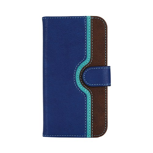 iKraft Flip Cover with Magnetic Flip for Le Eco Le 2/Le 2 Pro - Blue & Brown