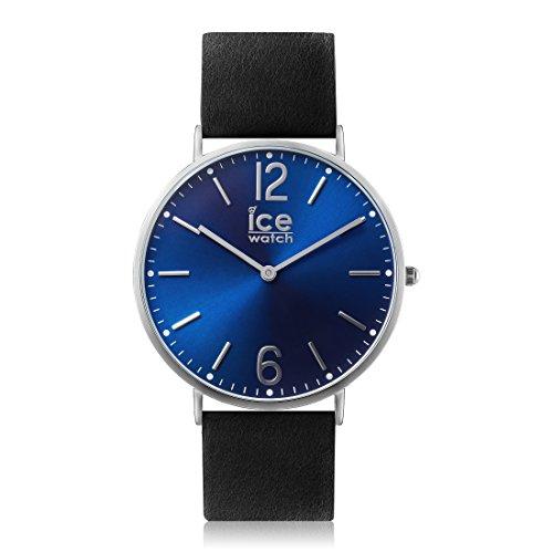 Ice-Watch - CITY Norwich - Reloj nero para Hombre (Unisex) con Correa de cuero - 012820 (Medium)