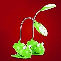 0.9W Lovable Cartoon Clamp-On Desk Led Light In Frog Design , 220-240V