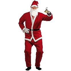 Disfraz de Papá Noel adulto - Única