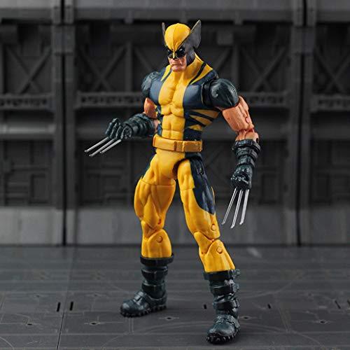 YQCSLS Spielzeug Modell Marvel X Warrior Wolverine X-MAN6 Zoll Gemeinsame Bewegliche Puppe Geschenk Ornamente Sammlung Spielzeug