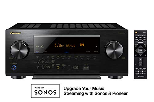 Pioneer vsx-lx5039.2Kanal 4K UltraHD Netzwerk A/V Receiver schwarz Pioneer Elite 1080p