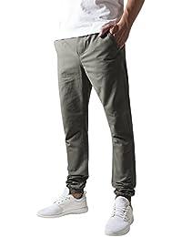 Urban Classics Herren Hose Washed Canvas Jogging Pants