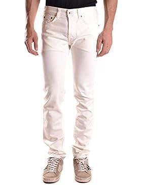 Evisu Hombre MCBI338009O Blanco Algodon Jeans