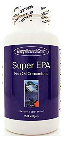 Allergy Research Group Super EPA Fish Oil Concentrate 200 Softgels -