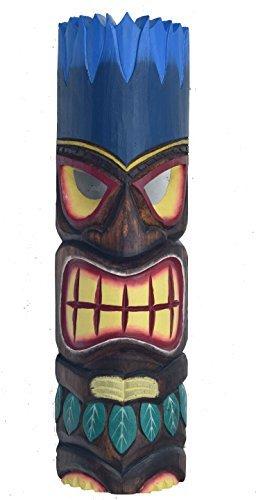 FUEGO-PELO-Tiki-Mscara-50cm-IM-HAWI-look-Mscara-de-madera-HAWI-Maui-Mscara-de-pared-ISLA-DE-PASCUA-Kauai