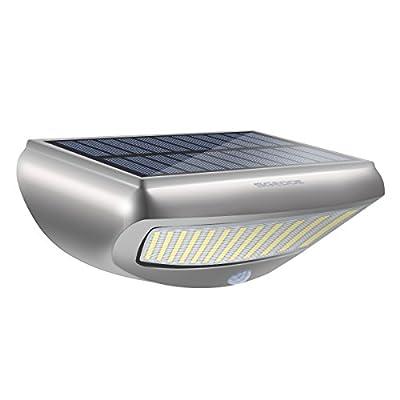 Solar wall light, SGODDE 4-in-1 Solar Lights Motion Sensor Security Light, 36 LED 650LM Solar outdoor wall light,IP44 Waterproof Solar garden lights(Human Induction,4 Intelligient Modes,45 ° adjustable holder) - inexpensive UK light shop.