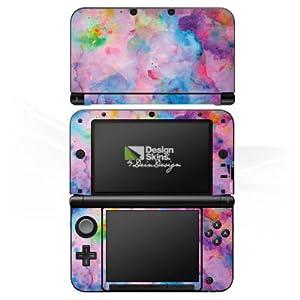 DeinDesign Skin kompatibel mit Nintendo 3 DS XL Aufkleber Sticker Folie Malerei Bartik Tie Dye Tie Dye