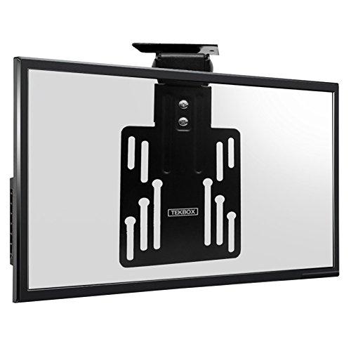 Tekbox TV-Deckenhalterung (13 - 23 Zoll (33 - 58 cm), LCD- / LED- / Plasma-Bildschirme (mit 50 x 50, 75 x 75 und 100 x 100 VESA-Größe), neigbar, zusammenklappbar