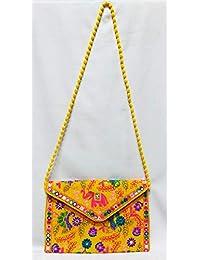 SONA - Hucha de algodón, varios diseños de bordado completo, diseño de cruz y