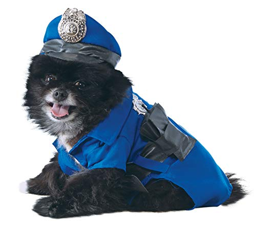 Rubies Offizielles Pet Dog Kostüm, Polizei, X-Large
