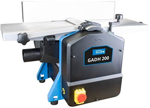 Güde 55440 Abricht- & Dickenhobel GADH 200 (Abrichttische aus Alu-Druckguss, Hobelwellenschutz, Überlastschalter)
