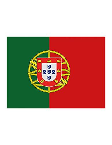 Bandiera da calcio, 150 x 90 cm, diversi paesi, portogallo, 90 x 150cm