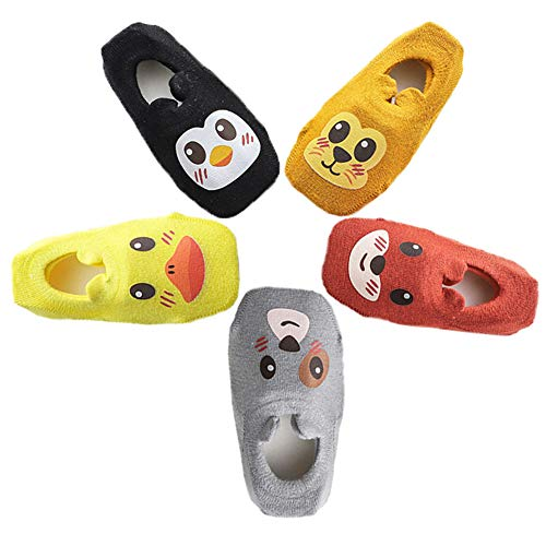 Mädchen Socken Set (Ceguimos - 5er Pack Baby Jungen Mädchen ABS Antirutsch Socken, Set 1)