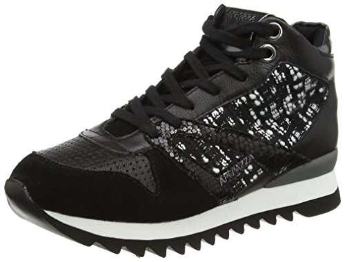 ApepazzaDANIELA - Sneaker donna , Nero (Schwarz (Nero/Bianco)), 38