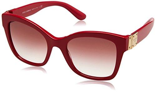 Dolce & Gabbana Damen 0DG4309 30978D 53 Sonnenbrille, Pink (Fuxia/Pinkgradient)