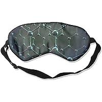 Sleep Eye Mask Chemistry Ball Lightweight Soft Blindfold Adjustable Head Strap Eyeshade Travel Eyepatch preisvergleich bei billige-tabletten.eu