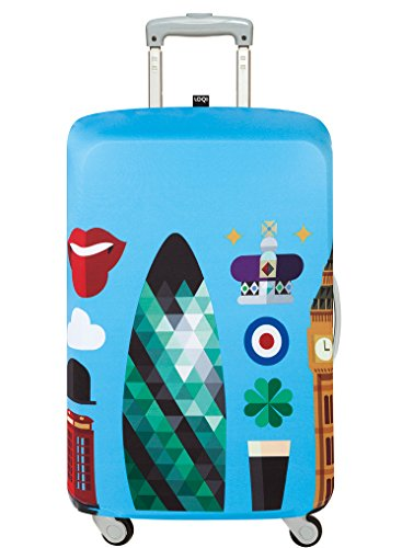 LOQI HEY STUDIO London Luggage Cover - Kofferhülle