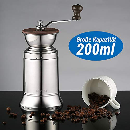 Ecooe macina caffè manuali macinacaffè manuale caffettiera in acciaio inox macinino manuale