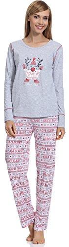 Merry Style Pyjama Femme 1194 Melange-1A