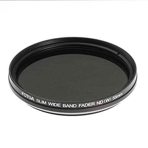 Ruili Schlank Fader Variable ND Filter einstellbar Neutrale Dichte 55mm, ND2 to ND400,55mm Kamera Filter