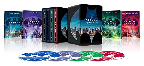 Batman 4 Film Collection (8 Blu Ray)