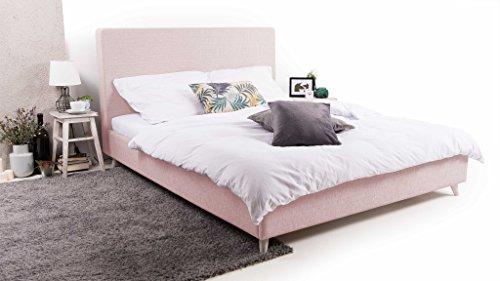 Trendyhome24 Polsterbett Bett More-s. 120×200 cm. Lattenrost im Preis! Premium Angebot !
