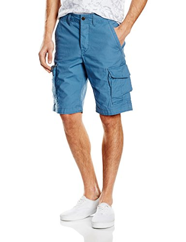 JACK & JONES Herren Short Preston Blau (Stellar)