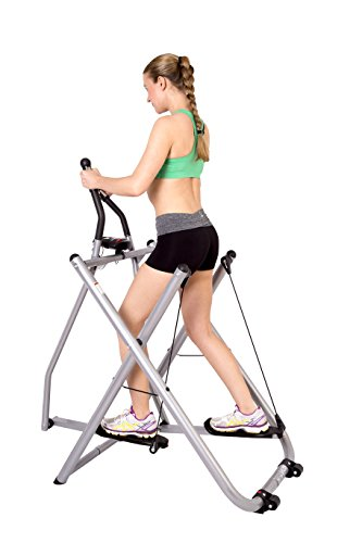 41xGxpzOgxL - SportPlus Air Walker - Nordic Walker Machine with Training Computer - Max. User Weight 100 kg - Foldable