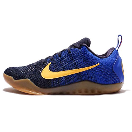 Nike Kobe Xi Elite Low Fcb, Chaussures de Sport-Basketball Homme Azul (College Navy / University Red-Racer Blue)