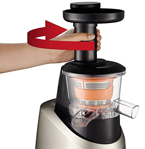 Moulinex Infiny Juice ZU255B - Licuadora, tecnología de prensado en frío, zumo y pulpa se separan en dos jarras, sistema antigoteo, tecnología de disminución del ruido