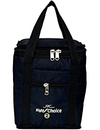 Right Choice Bags Silk School Tiffin Black Lunch Bag