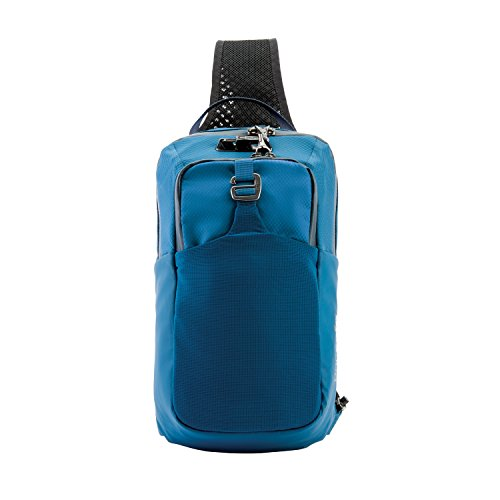 PacSafe Venturesafe X Anti-Theft Sling Pack Mochila Tipo Casual, 37 cm, 6 Liters, Azul Blue Steel 626...