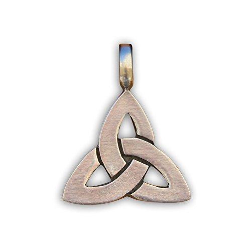 HANA LIMA Keltischer Knoten Anhänger Metallanhänger für Halskette Herrenkette Damenkette Surferkette Lederkette Halsband