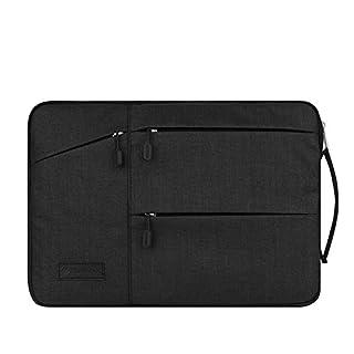 Acxeon Business Laptop Netebook Hülle Sleeve Tasche einfachen Stil Wasserabweisendes Nylongewebe Notebook Sleeve für MacBook Air / Pro Retina, Surface pro4, Ultrabook /Netbook (15.6