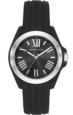 Michael Kors Reloj Analógico para Mujer de Cuarzo con Correa en Silicona MK2729