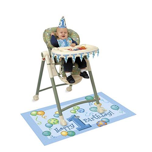 unique-party-set-di-decorazioni-per-seggiolone-primo-compleanno-taglia-unica-blu-