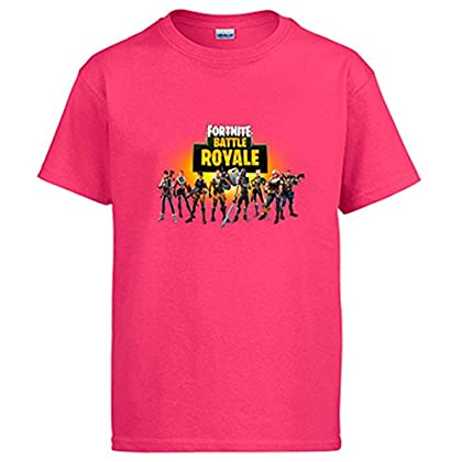 Camiseta Fortnite Battle Royale - Rosa, 12-14 Años
