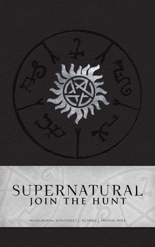 Supernatural Hardcover Ruled Journal Cover Image