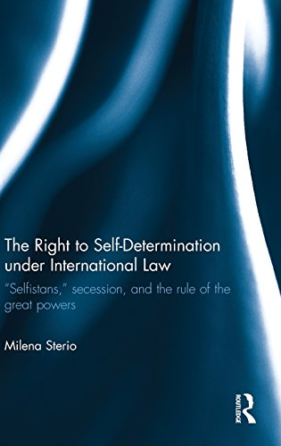 The Right to Self-determination Under International Law: