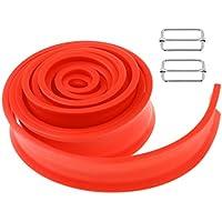 FLAMEER Profesional Arnés de Resistencia de Hombres y Mujeres para Aumento de Fuerza y Potencia 4 Colores Opcionales Piezas de Ejercicios de Estiramiento - Naranja