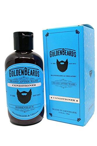 Acondicionador de barba Orgánico (100ml) - Golden beards- Hidrata tu barba y piel. Nuestros productos son 100% Veganos & Naturales y NO TESTEADOS con ANIMALES.
