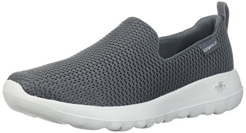 Skechers Damen Go Walk Joy Slip on Sneaker, Grau (Charcoal), 41 EU