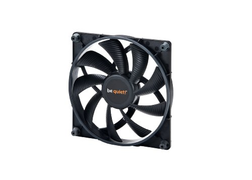 3 Speed Fan-shop (be quiet! BQT T12025-MR-PWM Shadow Wings Lüfter 120mm)
