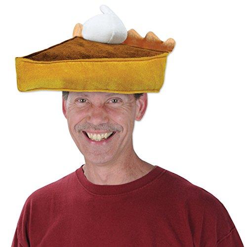 Beistle 1-Pack Dekorative Plüsch Kürbis Torte Hut