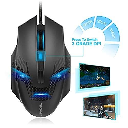 Preisvergleich Produktbild TeckNet Raptor Truewave Gaming Maus schwarz